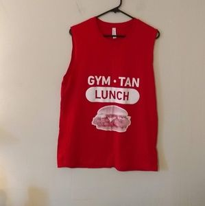 3 for $20 Bella Canvas Red Graphic Tank Top